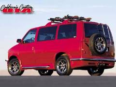 California Custom AWD Ski Van